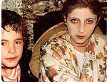 Anna Tomasi i Pauet a casa del Nazario aprox.1980