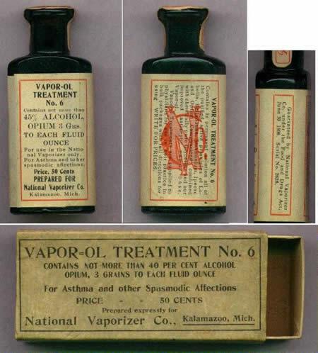 opio para el asma